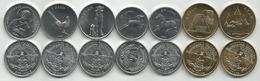 Nagorno-Karabakh Set Of 7 Coins 2004 (2x50 Luma + 3x1 Dram + 2x5 Dram ) UNC - Nagorno-Karabakh