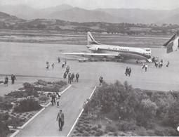 1971 - Iconographie - Ajaccio (Corse) - L'aéroport - FRANCO DE PORT - Vieux Papiers