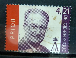 2003 Belgium 4,21 EURO King Albert II Used/gebruikt/oblitere - Belgique