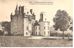 Le Chateau De Vaux Dominant La Route D'yssingeaux à Retournac - Other Municipalities