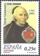 España 2002 Michel 3725 Neuf  ** Cote (2008) 0.55 Euro 300 Ans Caja Madrid Francisco Piquer - 1931-Aujourd'hui: II. République - ....Juan Carlos I