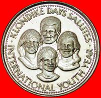 # KLONDIKE DAYS (1968-1986): CANADA ★ 1 DOLLAR 1985 UNC MINT LUSTER! LOW START ★ NO RESERVE! - Professionals / Firms