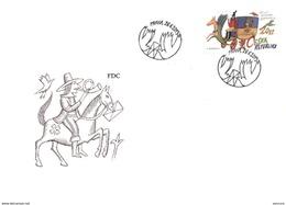 FDC 2013 : 130 Ans Des Services Finciers De La Poste Post Bank - FDC