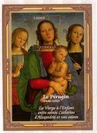 CONGO   Painting, P.Perugino,   SS  Imperf. - Art