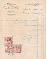 1920 - TAILLEUR  - Livrées AMAZONES  - Emile MULLER à Paris - Historical Documents