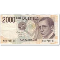 Billet, Italie, 2000 Lire, 1990-10-03, KM:115, TB+ - [ 2] 1946-… : République