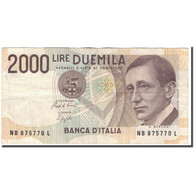 Billet, Italie, 2000 Lire, 1990-10-03, KM:115, TB+ - [ 2] 1946-… : Republiek