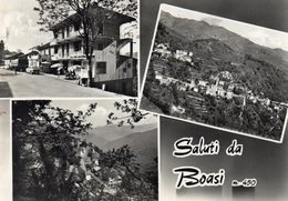 BOASI - SALUTI - GENOVA - VIAGGIATA - Genova