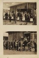 662- Guerre 14/18 - CAMP DE PRISONNIERS De DÜLMEN - DISTRIBUTION  DES  REPAS  - RARE - Guerre 1914-18