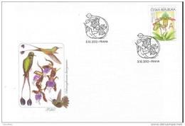 FDC 2012 : Orchidée Sabot De Vénus - FDC