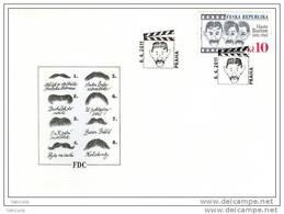 FDC 2011 : Vlasta Burian Acteur Comique De L'entre Deux Guerres Film Moustache - FDC