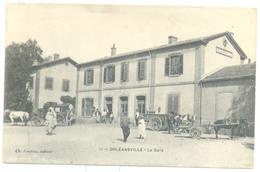 ORLEANSVILLE LA GARE DID NOT TRAVEL - Chlef (Orléansville)