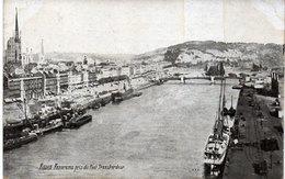 ROUEN - Panorama Pris Du Pont Transbordeur    (109587) - Rouen