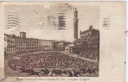 SIENA 1935 Corsa Del Palio In Piaza Vitt. Em. - 2 Luglio - 16 Agosto - Siena