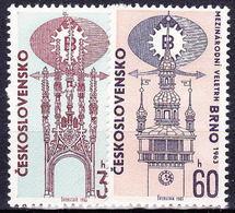 ** Tchécoslovaquie 1963 Mi 1416-7 (Yv 1288-9), (MNH) - Unused Stamps
