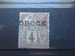 VEND BEAU TIMBRE D ' OBOCK N° 12 , (X) !!! - Obock (1892-1899)