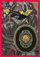 CPM Haïti Franc Maçonnerie Maçonnique Loge De Saint Jean Jihel Tirage Signé 30 Exemplaires Numérotés Signés - Cartes Postales