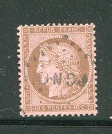 Y&T N°58- Cachet PGNO - 1871-1875 Ceres