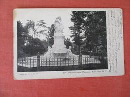 New York City > Bronx Park  Heinrich Heine Monument      Ref 3054 - Bronx