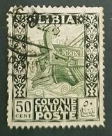 Libya 1921, Antiquity, Colonie Italiane, Used - Libya