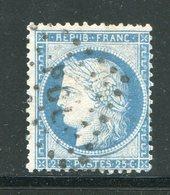 Y&T N°60C- Cachet PGL - 1871-1875 Ceres