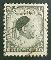 Libya 1952, King Idris, Used - Libia