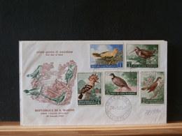78/989   FDC  SAN MARINO - Birds
