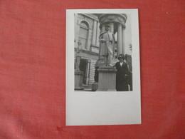 RPPC  Civil War Monument--    Ref 3054 - Postcards