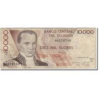 Billet, Équateur, 10,000 Sucres, 1995-03-06, KM:127b, B - Equateur