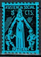 ASISTENCIA SOCIAL UTIEL, VALENCIA, 5 CTS - Emissioni Repubblicane