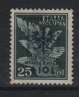 1944 Occupazione Tedesca Lubiana 25 C. + 10 L. MLH - Occup. Tedesca: Lubiana