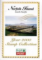 Norfolk Island 2000 Year Stamp Collection (23 Stamps + 5 Sheets) - Norfolk Eiland
