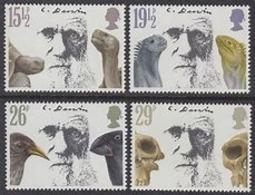 Great Britain 1982 Charles Darwin 4v ** Mnh (40353A) - 1952-.... (Elizabeth II)