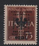 1944 Occupazione Tedesca Lubiana 75 C. + 20 L. MNH - Occup. Tedesca: Lubiana