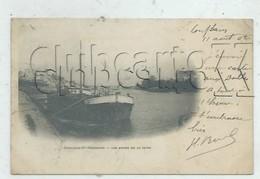 Conflans Saint-Honorine (78) : GP D'une Péniche à Quai En 1902 (animé)  PF. - Conflans Saint Honorine