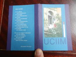18279) TESSERA UCIIM 1999 UNIONE CATTOLICA ITALIANA INSEGNANTI MEDI - Documentos Antiguos