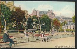 °°° 11664 - IRELAND - QUEENSTOWN , CO CORK - 1908 With Stamps °°° - Cork