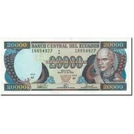 Billet, Équateur, 20,000 Sucres, 1999-03-10, KM:129c, TTB+ - Equateur
