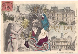 CPA. FALLIERES PRESIDENT DE LA REPUBLIQUE. MAI 1907. - Geschichte
