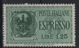 1944 Occupazione Tedesca Lubiana  Espresso 1,25 MNH - Occup. Tedesca: Lubiana