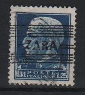 1943 Occupazione Tedesca Zara 1,25 L. US - Occup. Tedesca: Zara