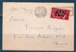 Trieste A 1947-48  --Lettera Per Interno Con £15 Espresso - Storia Postale