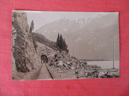 RPPC   Mountain Railroad Tunnel  To ID     Ref 3054 - Postcards