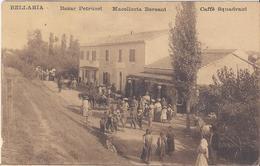 BELLARIA - RIMINI1916 Bazar Petrucci - Macelleria Bersani - Caffè Squadrani - Timbro Savignano Di Romagna - Italie