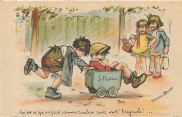 GERMAINE BOURET EDITION CMP   QU'EST CE QU'ON FAIT COMME TOUCHES AVEC NOT'BAGNOLE - Bouret, Germaine