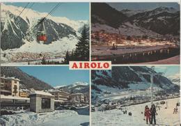 Airolo - Multiview Im Winter En Hiver, Skilift - Photo: Borelli - TI Tessin