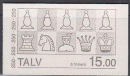 Faroe Islands 1983 Chess Booklet ** Mnh (40355A) - Faeroër