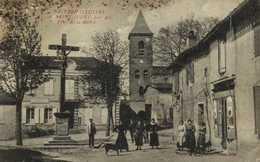 SAINT JUERY Près Albi Place De La Mairie Epicerie Personnages RV - France