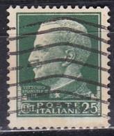 Regno D'Italia, 1929 - 25c Serie Imperiale - Nr.248 Usato° - 1900-44 Vittorio Emanuele III