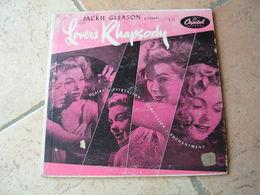 "33 Tours 25 Cm - JACKIE GLEASON   - CAPITOL 366   "" LOVER'S RHAPSODY ""  8 TITRES  ( U.S.A ) - Vinyl Records"
